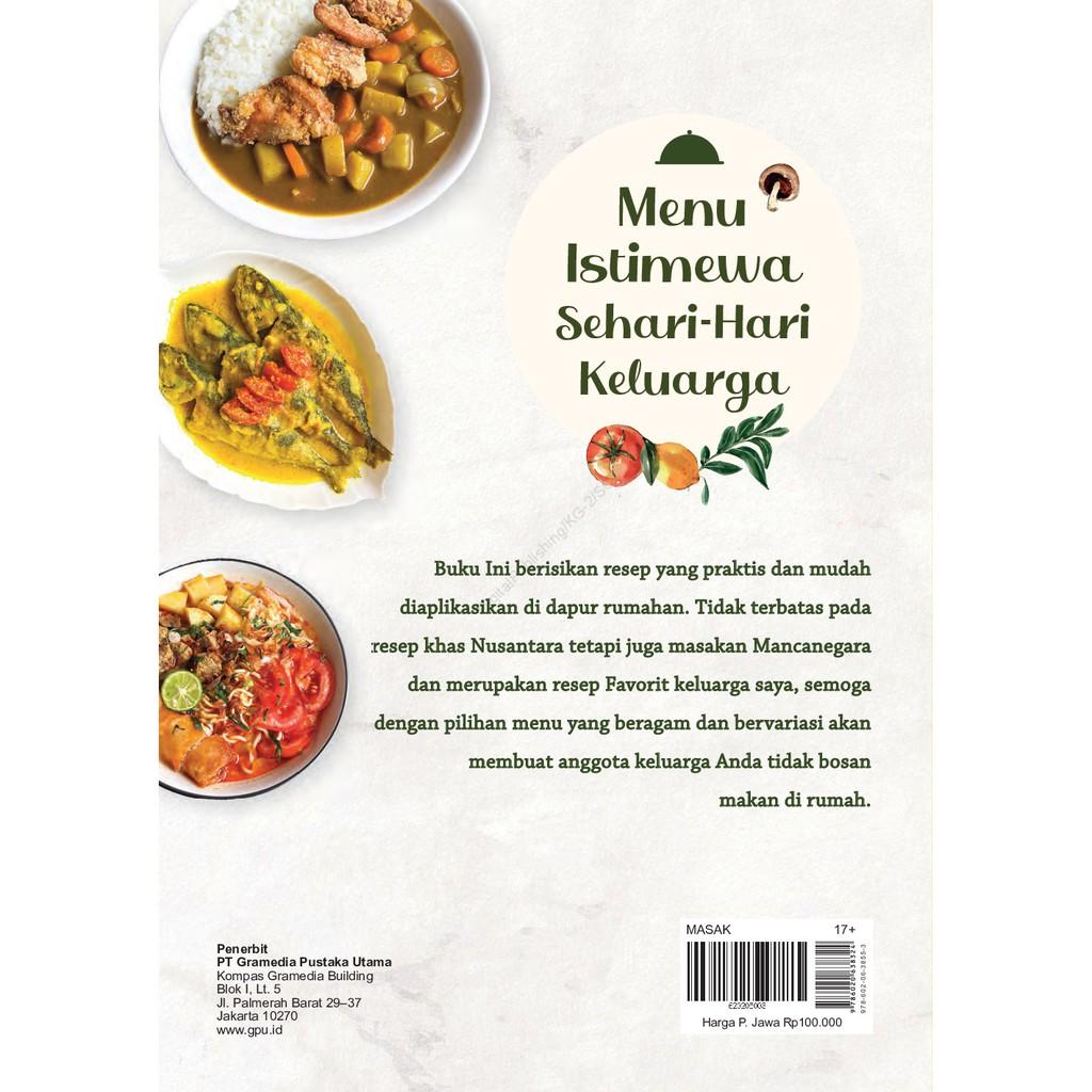 Buku Resep Menu Istimewa Sehari Hari Keluarga By Lily Minarosa Shopee Indonesia