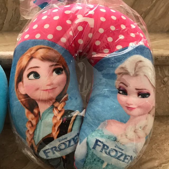 [0960020381] Frozen Bantal Leher Bantal Travelling Anak | Shopee Indonesia