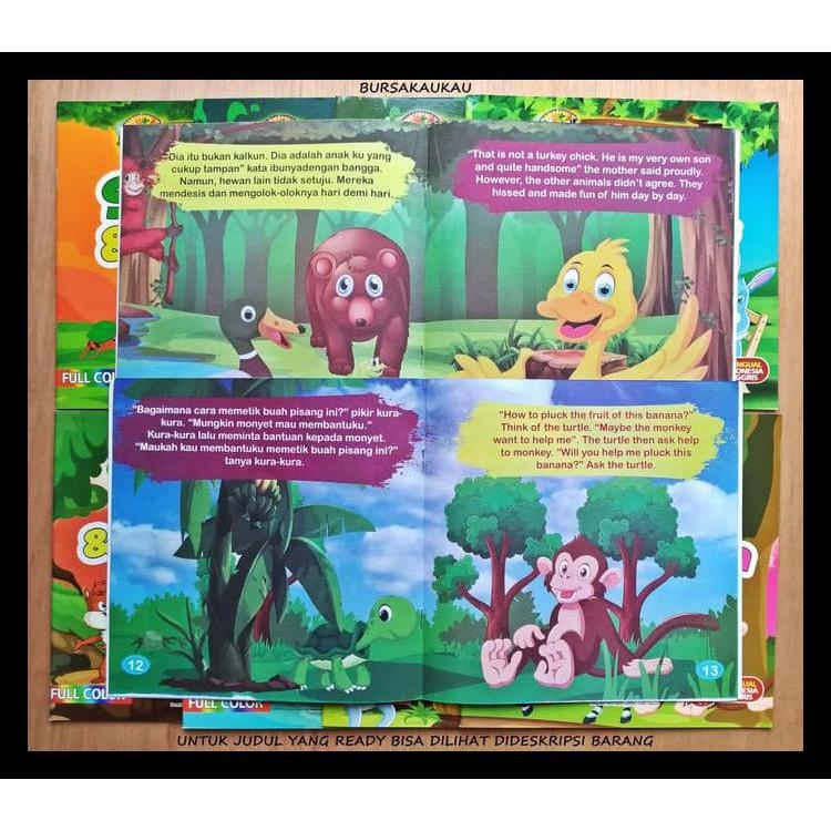 Buku Cerita Anak Bergambar Seri Fabel Inspiratif Sandro Jaya Shopee Indonesia