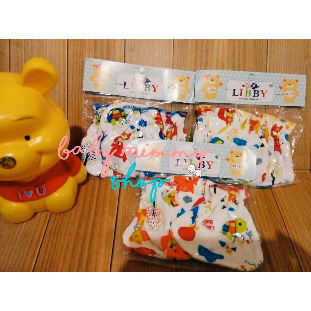 Sarung Tangan Kaki Bayi Set Libby Dan Polos Newborn New Born Mamimu Aksesoris Shopee Indonesia