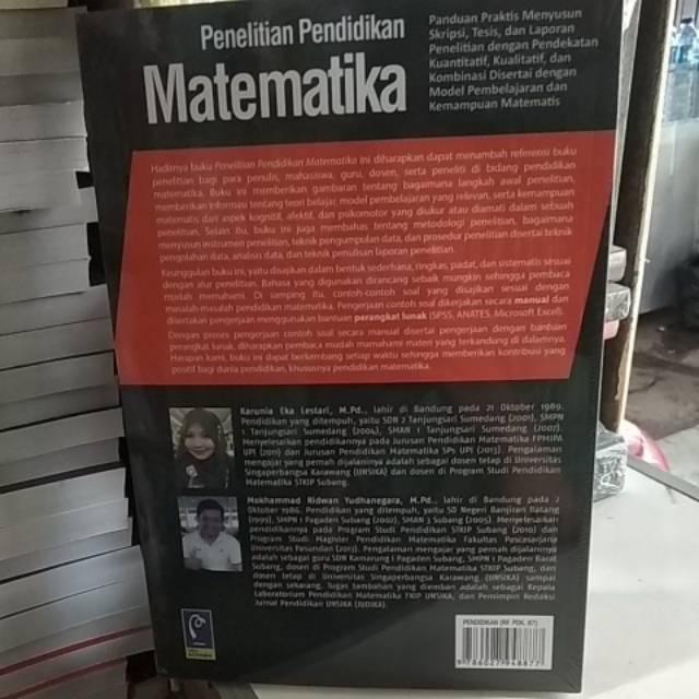 Buku Original Penelitian Pendidikan Matematika Shopee Indonesia