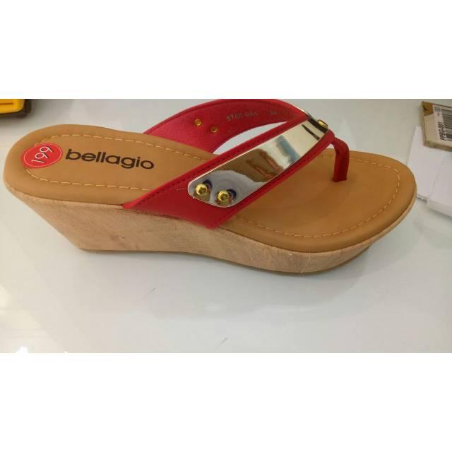Sandal Wedges Merah Bellagio sz 36 - 39  95057edd2b