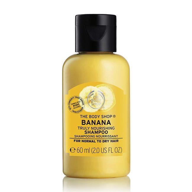The Body Shop Banana Truly Nourishing Shampoo 60ml