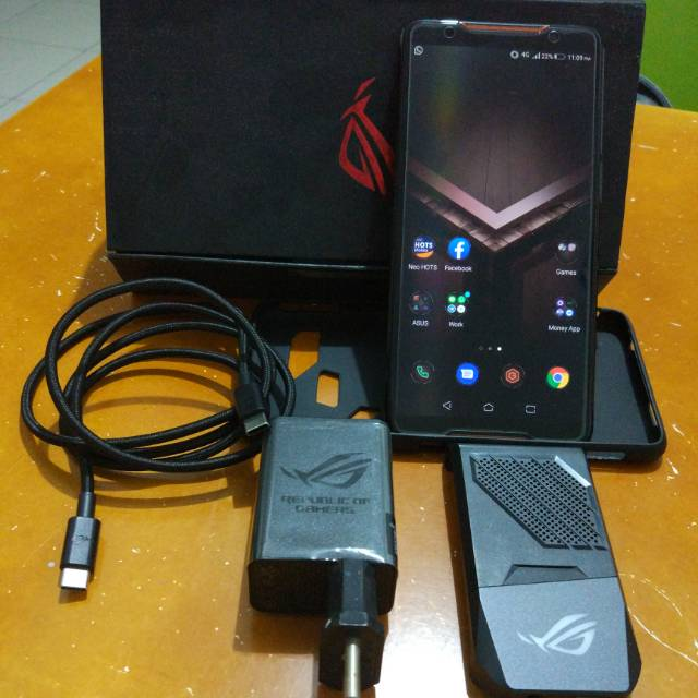 Hp Asus Rog Phone 8gb 128gb 8 128 Hitam Black Mulus Murah Bekas Second Smartphone Shopee Indonesia