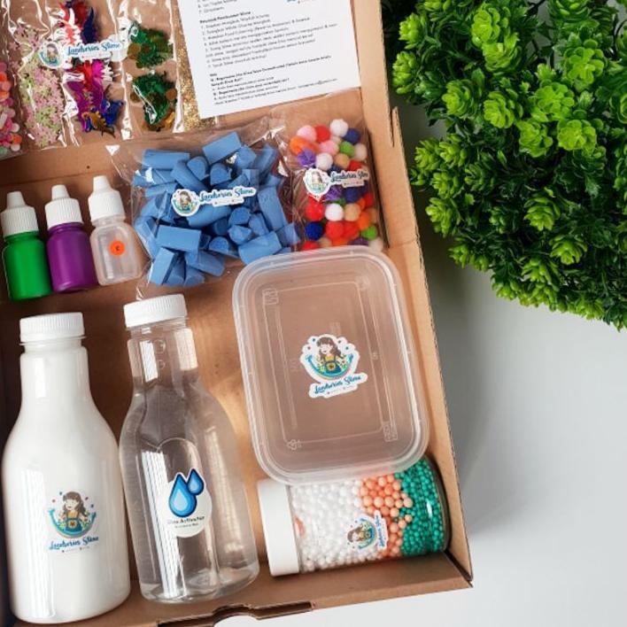 ☞ DIY Mini Slime Kit by Landseries Slime | Bahan Slime ❋
