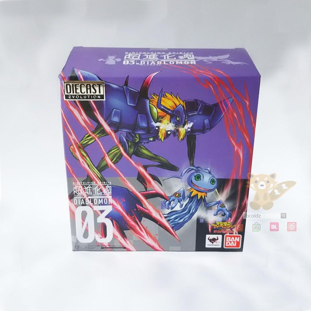 Digimon Digivolving Spirits 03 Diablomon diecast action figure Bandai