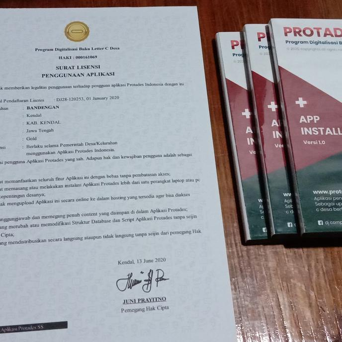 Aplikasi Buku Letter C Desa Shopee Indonesia