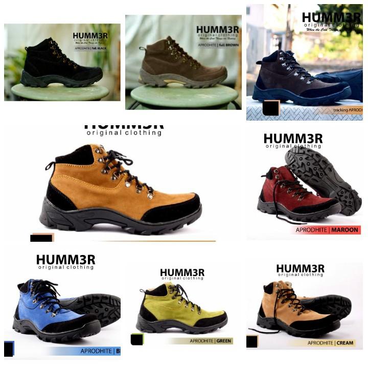 Sepatu Hummer Apollo Original Boots Tracking Adventure Pria Murah ... 742dbee7ac