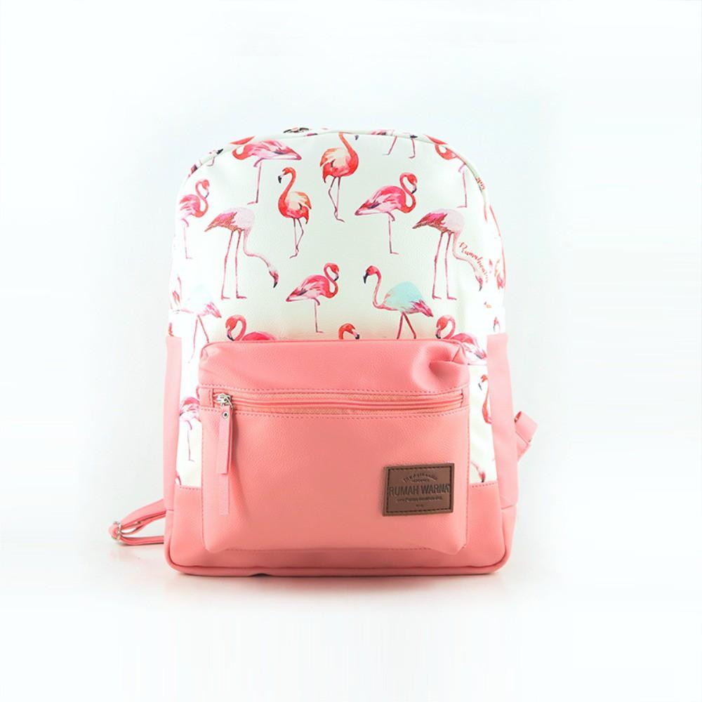 Rumah Warna Ransel Natania Pink Muda  eb8f66ddf4
