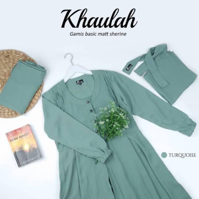 setelan gamis dan french khimar by jubahakhwat