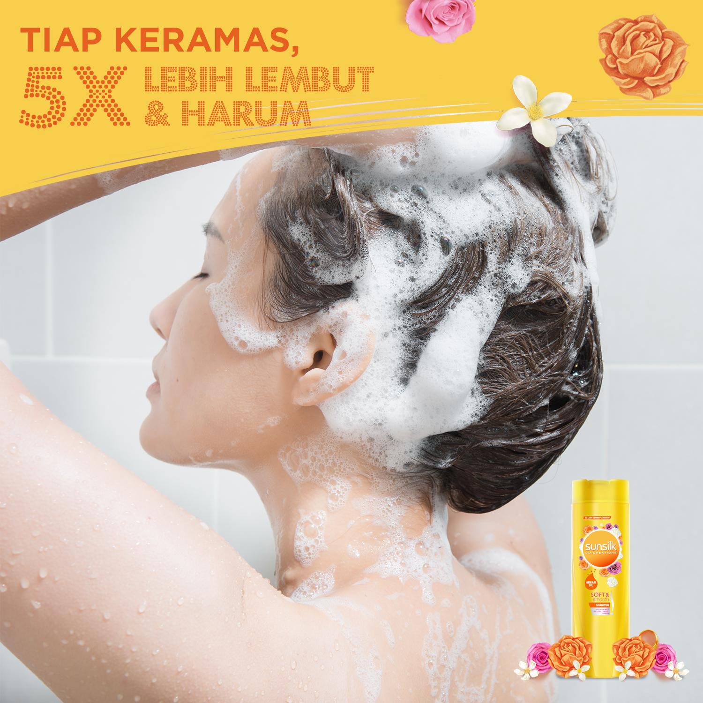 Sunsilk Shampoo Soft And Smooth 680 Ml - Shampo Rambut Halus, Shampo Pelembut Rambut-3