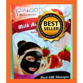 ... Masker Wajah Whitening Alami. Source · (SALE) SQIANSOTO MILK AND STRAWBERRY PEEL OFF MASK / PCS   Shopee Indonesia