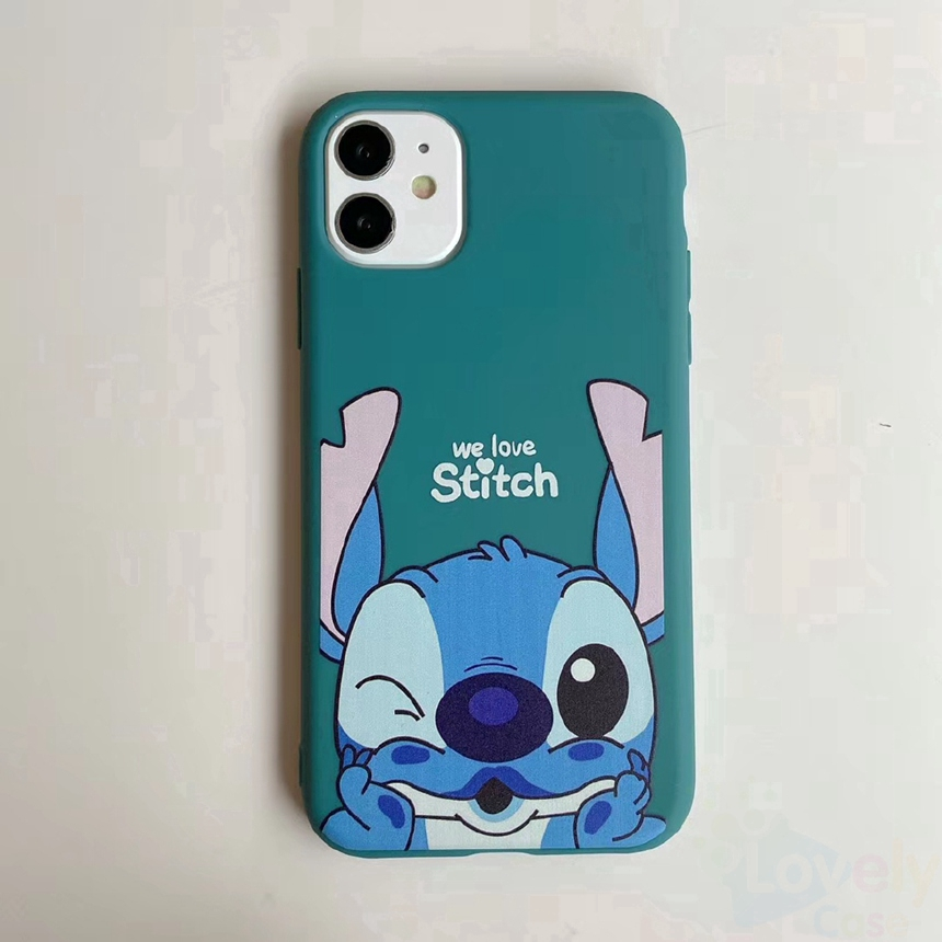 Casing Samsung Galaxy A71 A51 A70 A50 A50s A30s A30 A20 A10 Cute Cartoon Stitch Tpu Soft Phone Case Shopee Indonesia