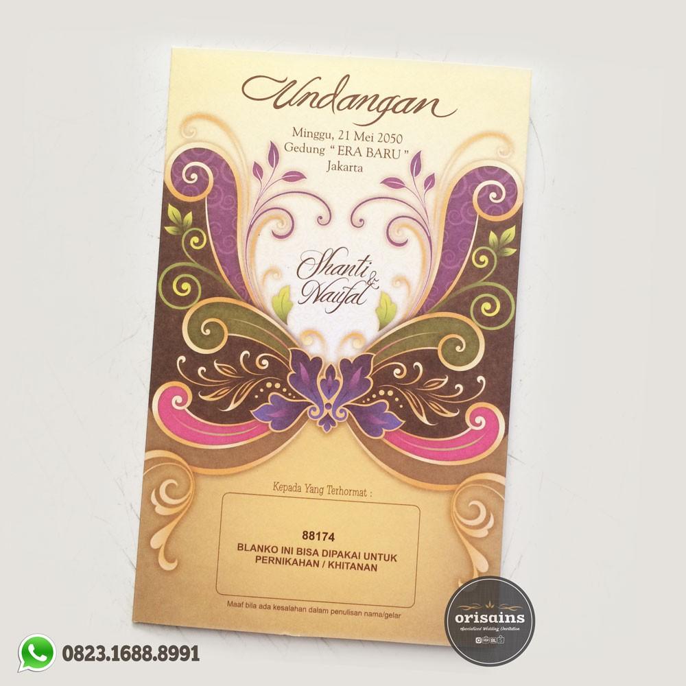 Promo Belanja Blangkoundangan Online September 2018 Shopee Indonesia Kartu Undangan Kode Blangko 88186