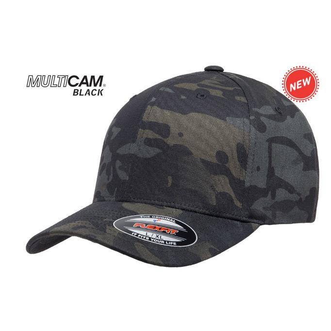 Flexfit Black Multicam