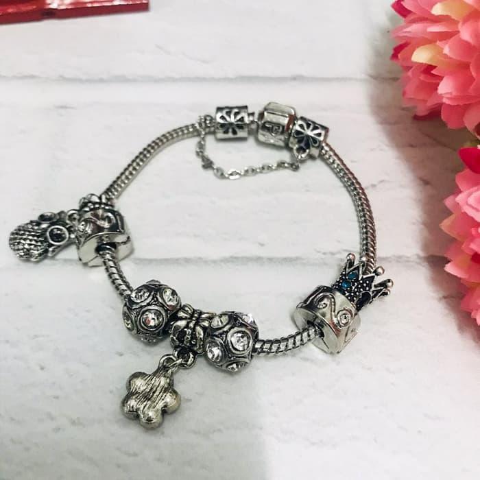 Gelang Pandora Wanita Custom Size Pandora Bracelet Custom Size Premium Quality Shopee Indonesia