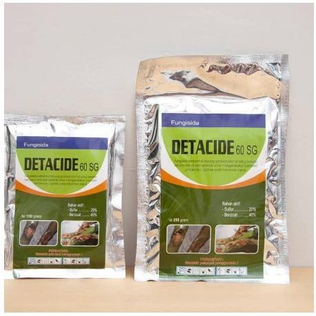 Fungisida DETACIDE 60SG 250 gram (ART. 198)