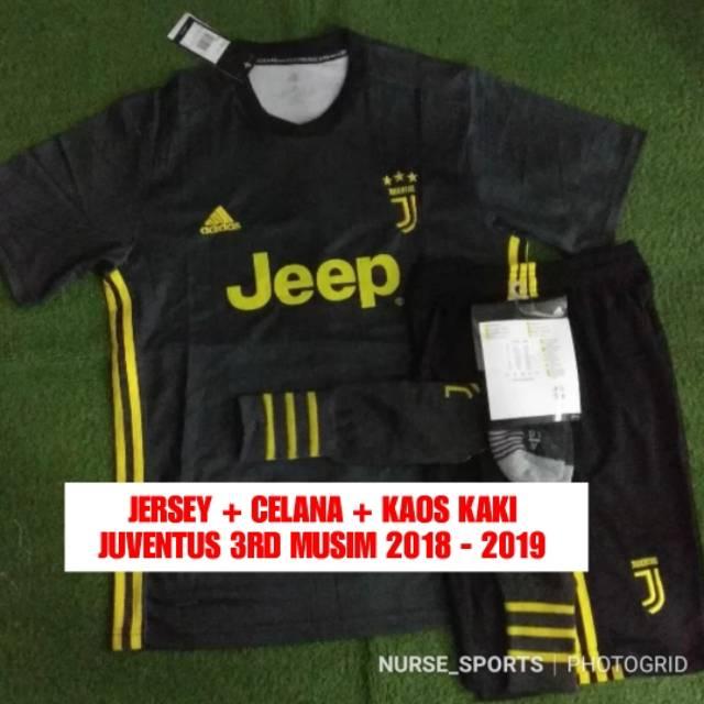 ... Sigab Store Jersey Bola Inter Milan Away Musim 2018/2019 New. Source · Jersey Juventus 3rd Third Seri A 2018/2019 - Satu set ( jersey celana kaos