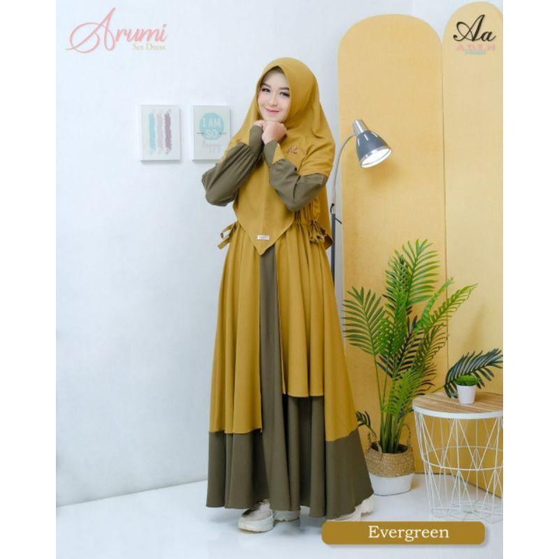 Gamis Arumi Aden Hijab