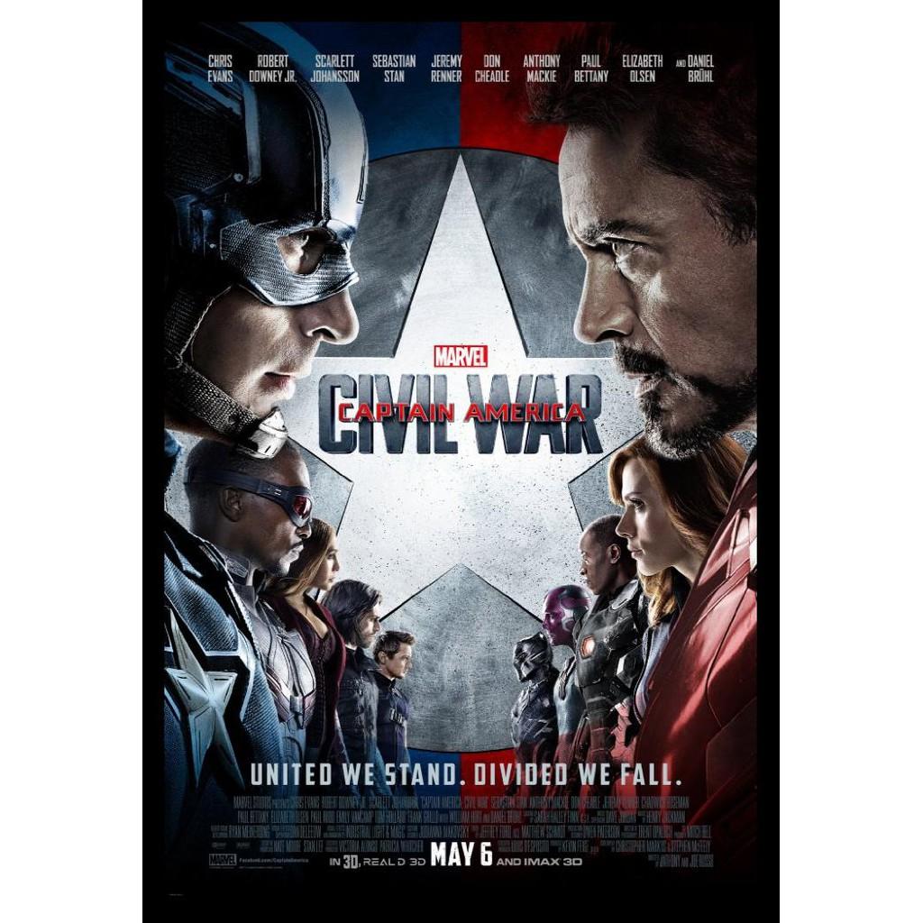 Dvd Captain America Civil War 2016 Bermutu Shopee Indonesia