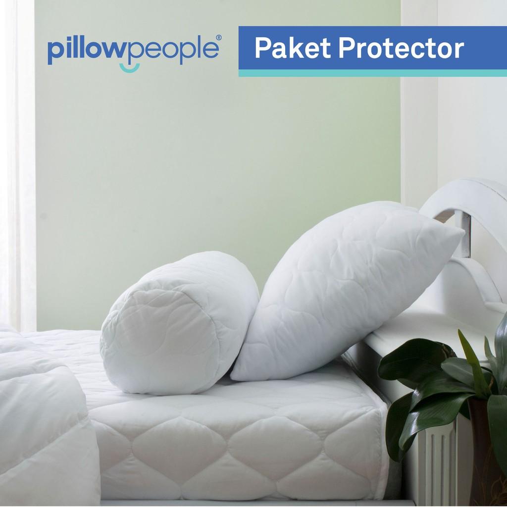 [PP] - Paket Protector 3 in 1 - Matras Protector - Pillow Protector - Bolster Protector