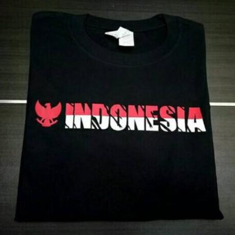 Indonesia Kaos Indonesia Merdeka Hut Ri Garuda Custom Lengan