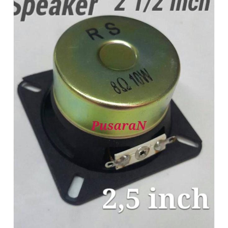 ☆➳ Speaker 2,5 inch - 8ohm - 10watt / Loudspeaker import - RS. New Arrival