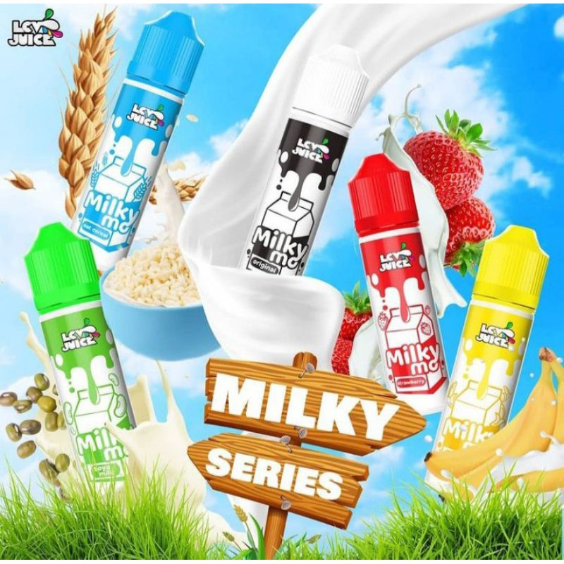 Liquids freebase 60ml MILKY MO SERIES by LCV JUICE
