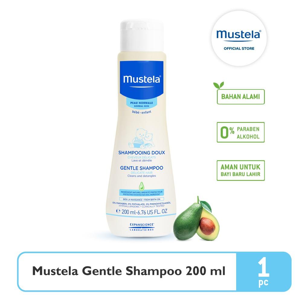 Mustela Bebe gentle Shampoo 200 ml-5