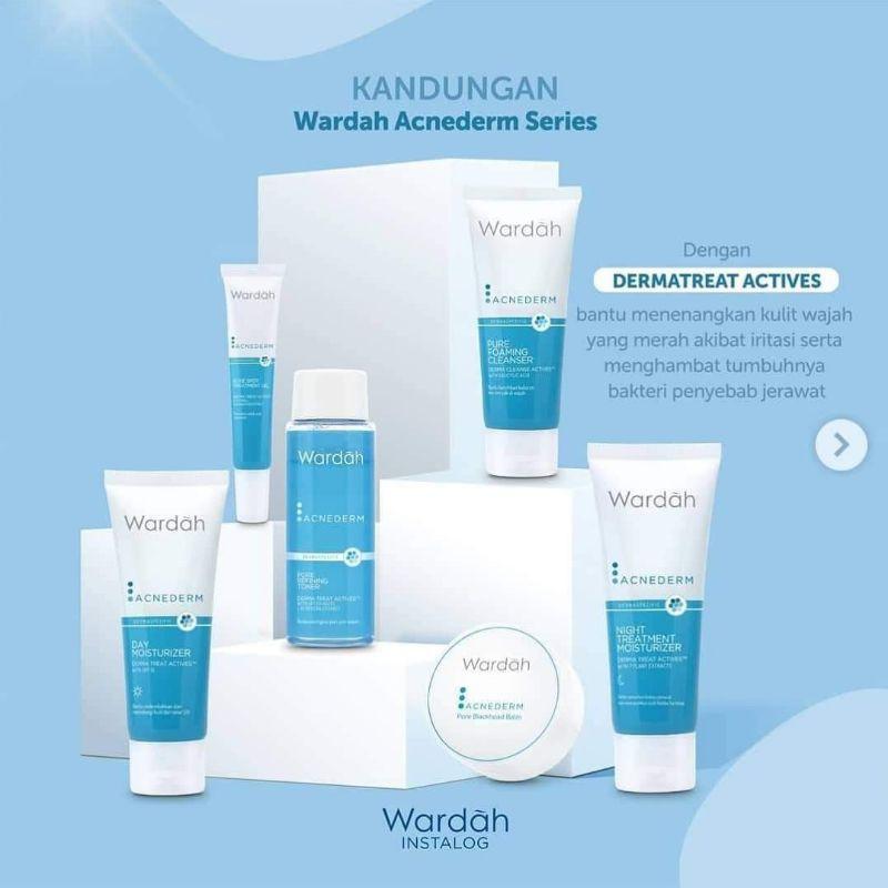 1 paket crem wardah acne