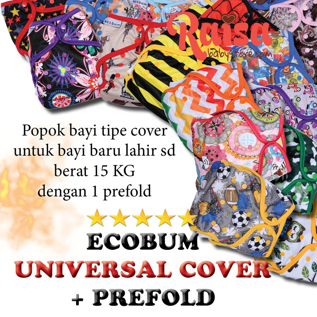 Ecobum Snap Pul Insert Bamboo Cotton London Clodi Popok Bayi Dengan Super Trainer Cloth Diaper Kain Motif 11 2 Shopee Indonesia