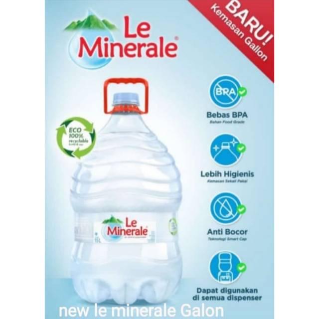 Le Minerale Galon 15 Liter Plus Galon Shopee Indonesia