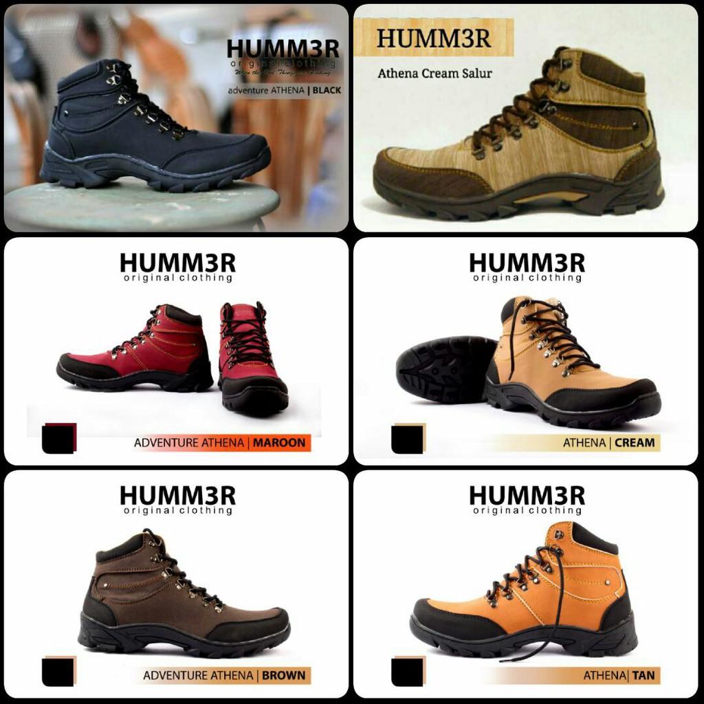 Sepatu Hummer Murah Boots Underground Black U59 Original Ter Humm3r Shopee Indonesia