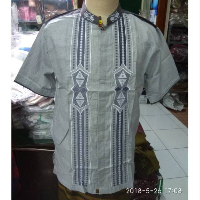 ... tangan pendek bordir zaidan 03. Source · Dapatkan Harga undefined Diskon | Shopee Indonesia -. Source · Shohib Baju Koko Kerah Sanghai