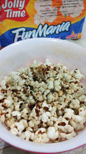 Popcorn Jolly Time Fun Mania Shopee Indonesia