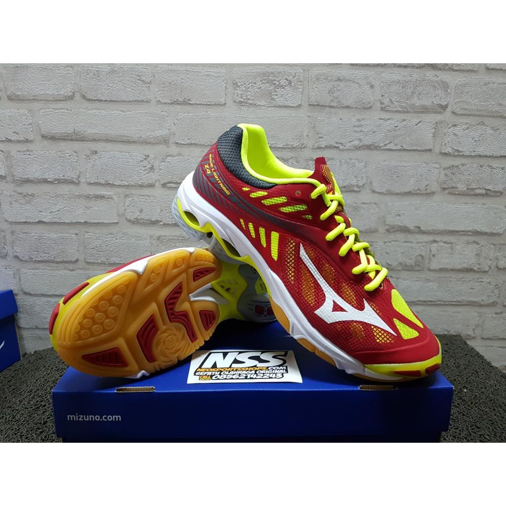Sepatu Mizuno Wave Luminous Original 182002 voli volly volley badminton  290a38a57b