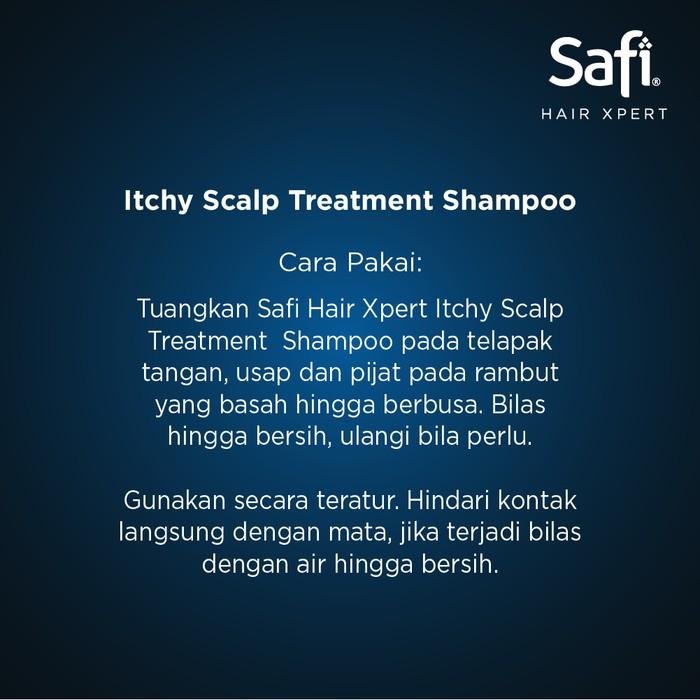 SAFI Hair Xpert SERIES Shampoo 160gr Kecil   Safi Shampo 320 ml Besar  SAFI Conditioner 180 ml-4
