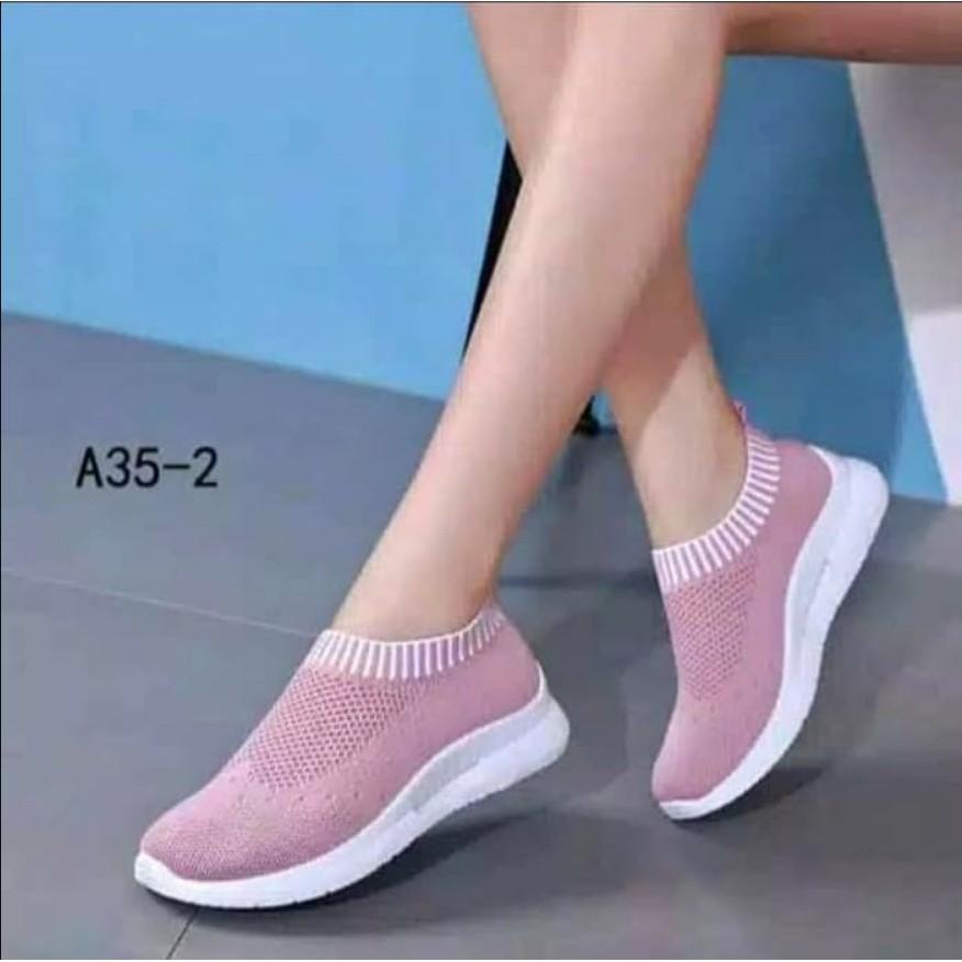 Sepatu Kets Replika Cewek Wanita Selop Blaster Murah Sport