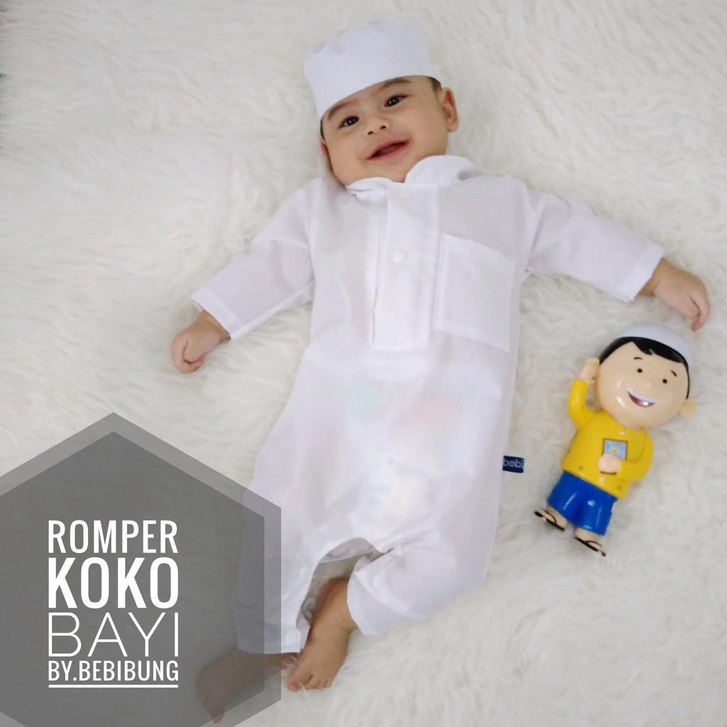 40 Gaya Baju Baby Boy Untuk Aqiqah Kekinian
