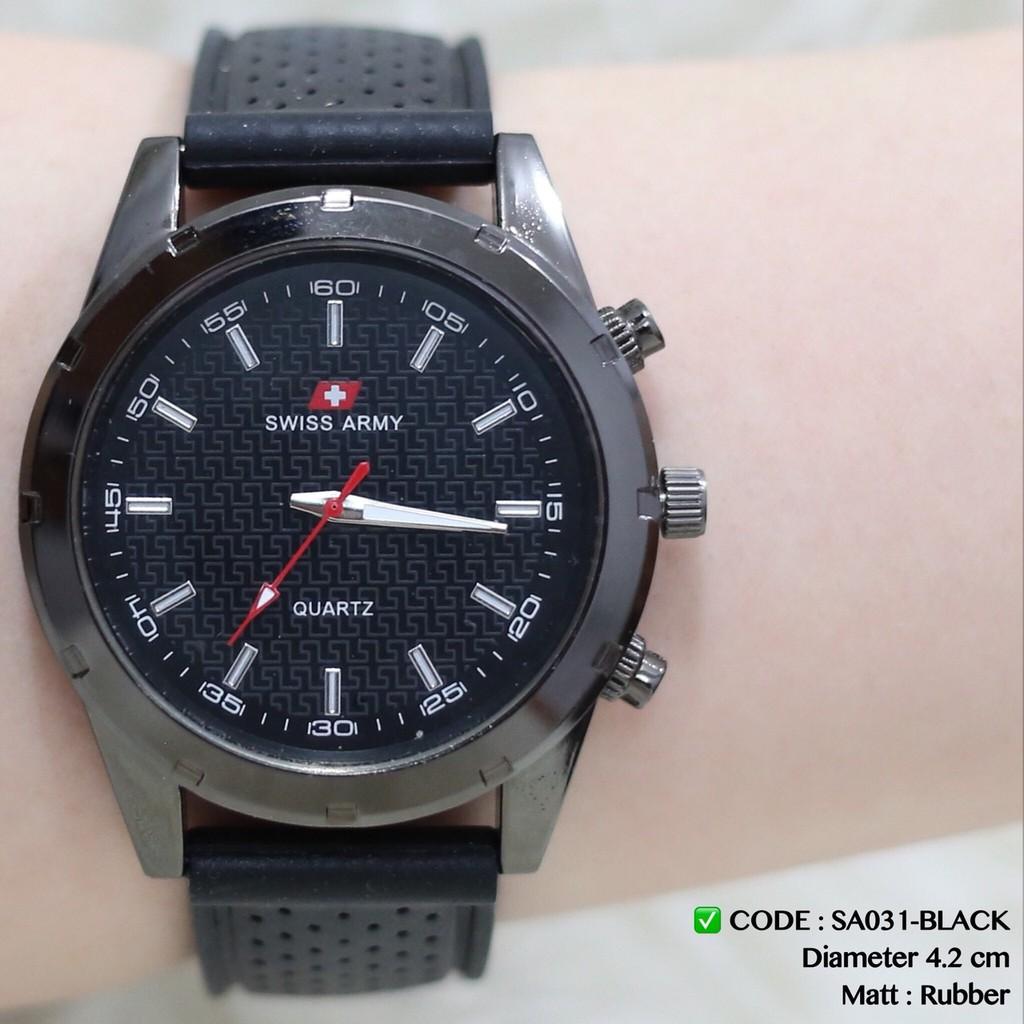 Jam tangan PRIA CASIO GSHOCK RING BESI tali karet sporty bisa berenang   Shopee Indonesia