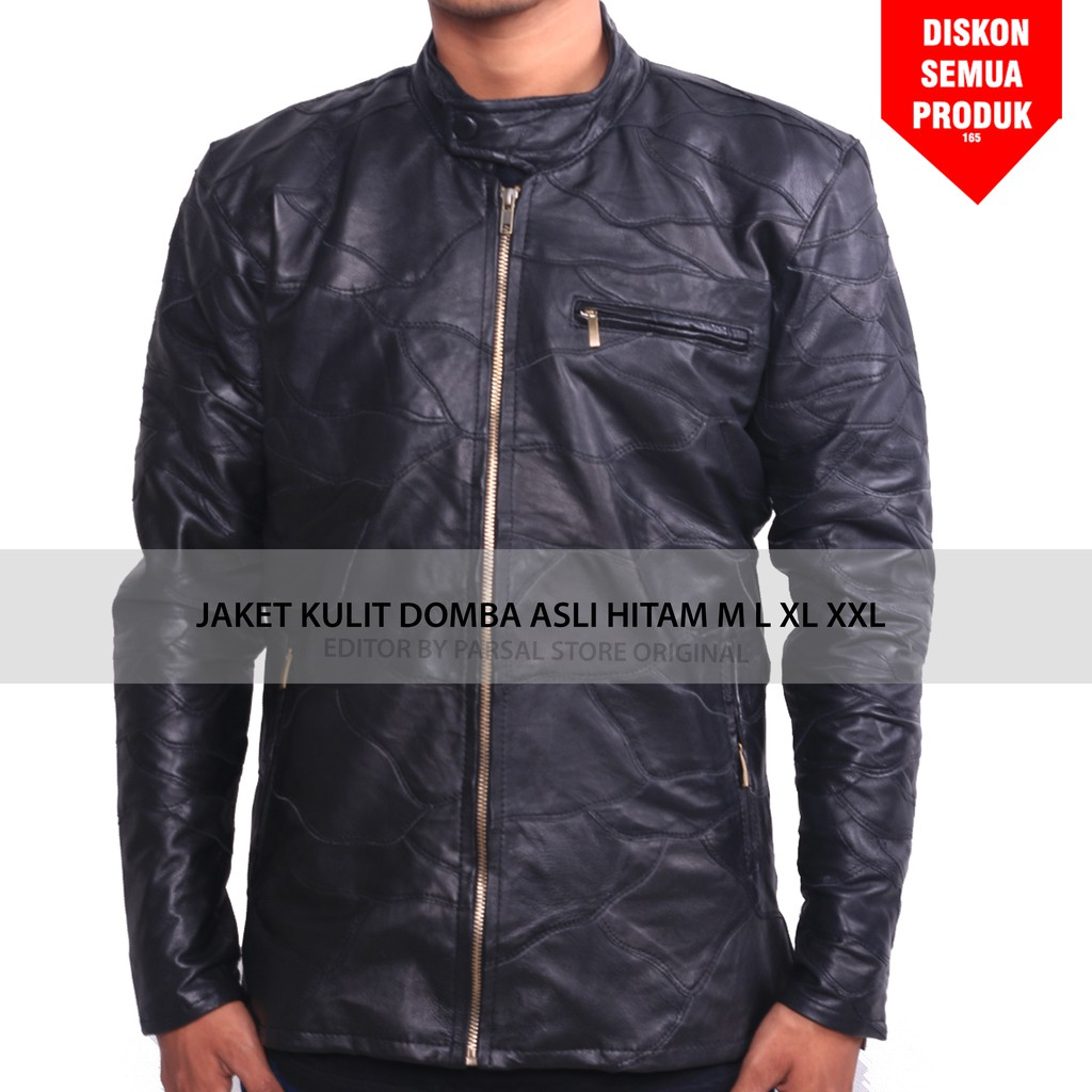 Jaket Kulit Asli Garut New Stylish Hoodie WJ41 GENUINE LEATHER PREMIUM  3907e9a4a5