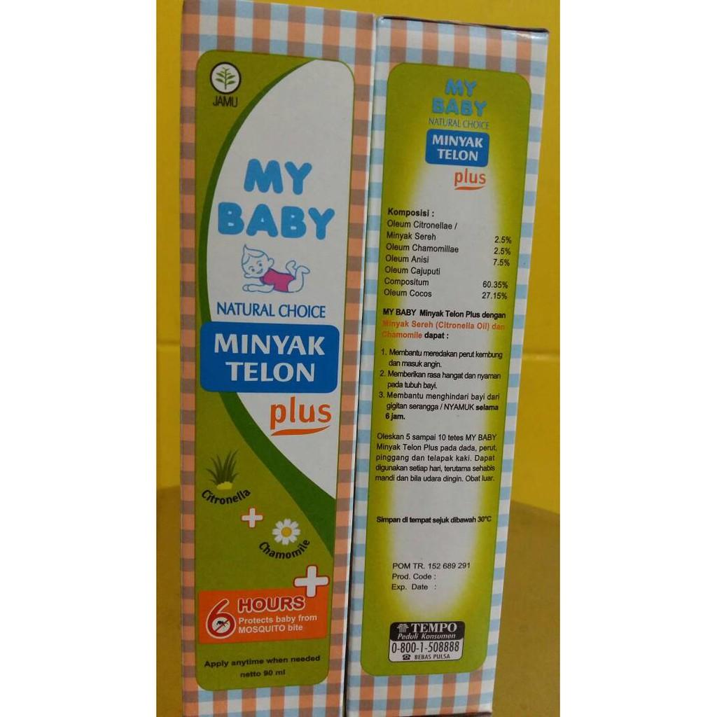Paling Dicari My Baby Minyak Telon Plus 60ml 60 Ml Shopee Indonesia Zwitsal Natural Twin Pack