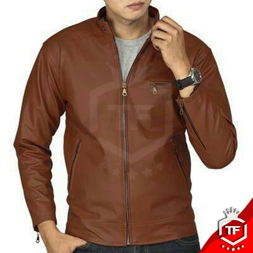 Jaket Pria Model Resmi Semi Kulit  Jaket Casual Kantor 6f3973de49
