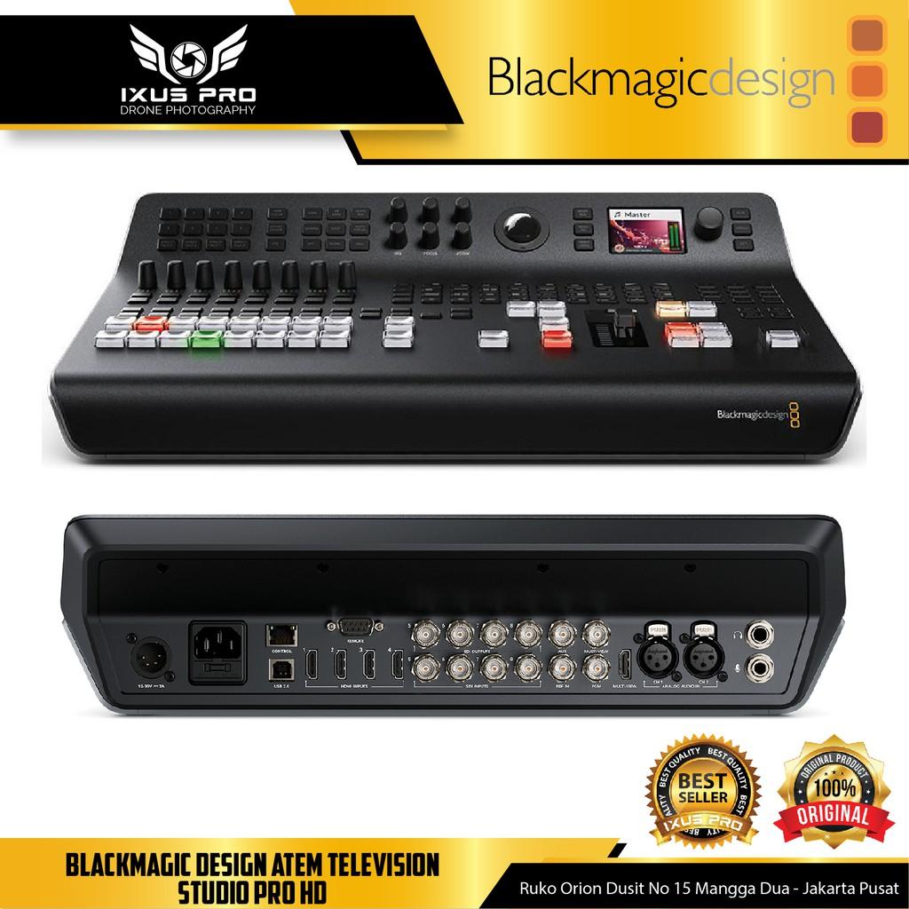 Blackmagic Design Atem Television Studio Pro Hd Live Production Switcher Shopee Indonesia
