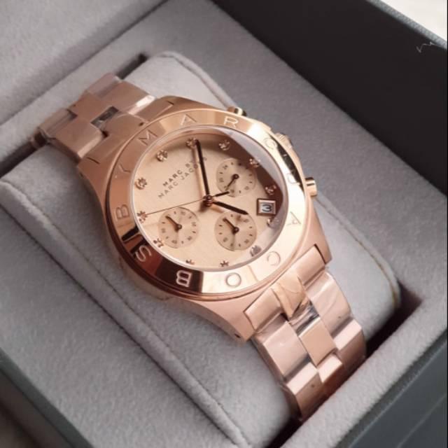 Jam tangan Marc jacobs Ladies Original chrono | Shopee Indonesia