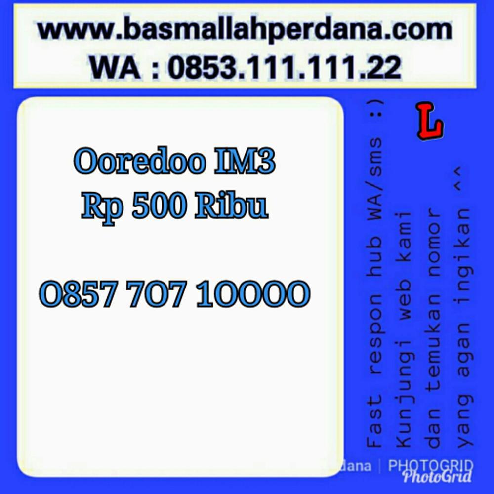 nomor Cantik Indosat Im3 Seri Ribuan 1000 0858 1000 8908 Murah hoki ON3 453   Shopee
