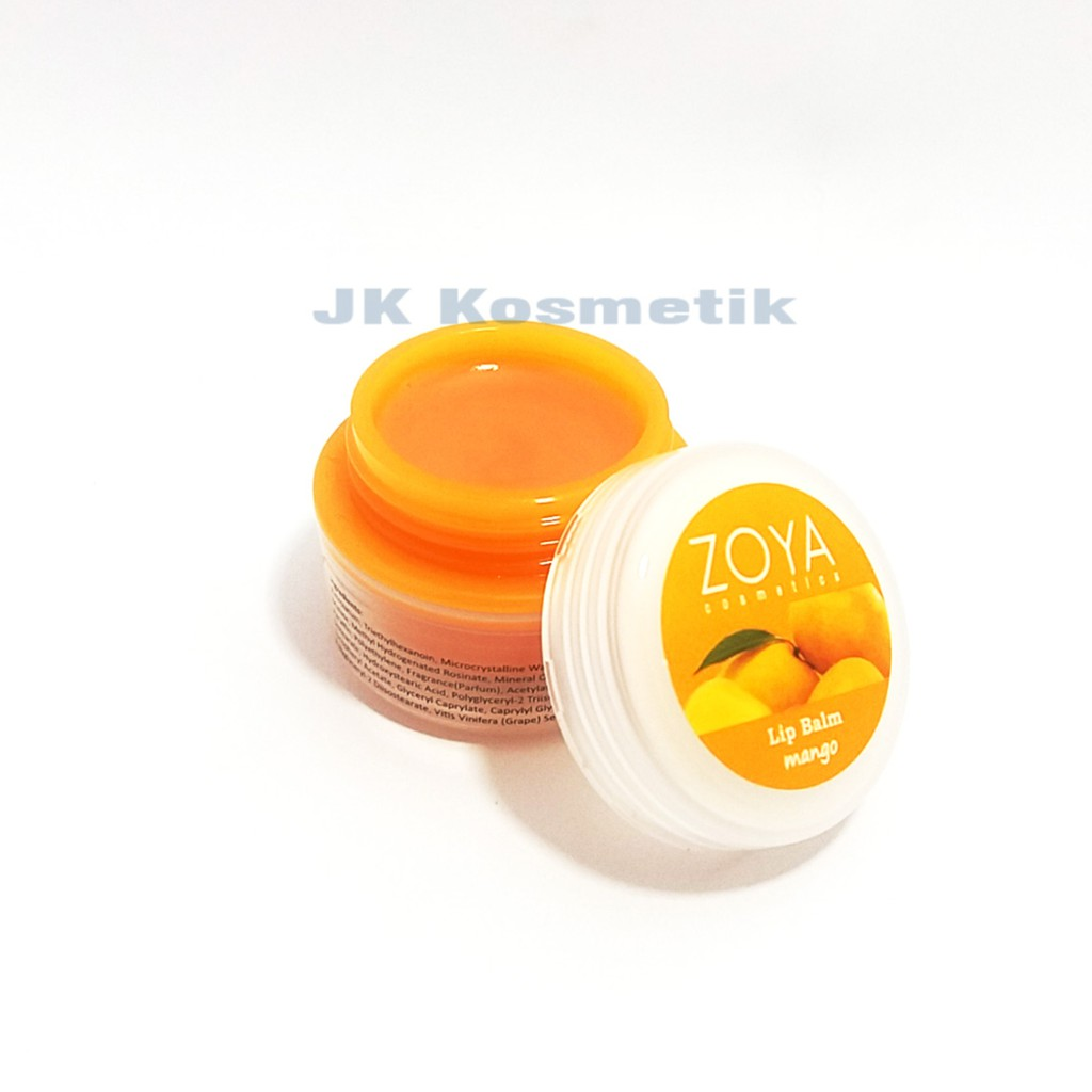 Zoya Cosmetics Lip Balm Mango 03 Daftar Harga Terbaru Dan Ultramoisse Strawbeery Ice 04