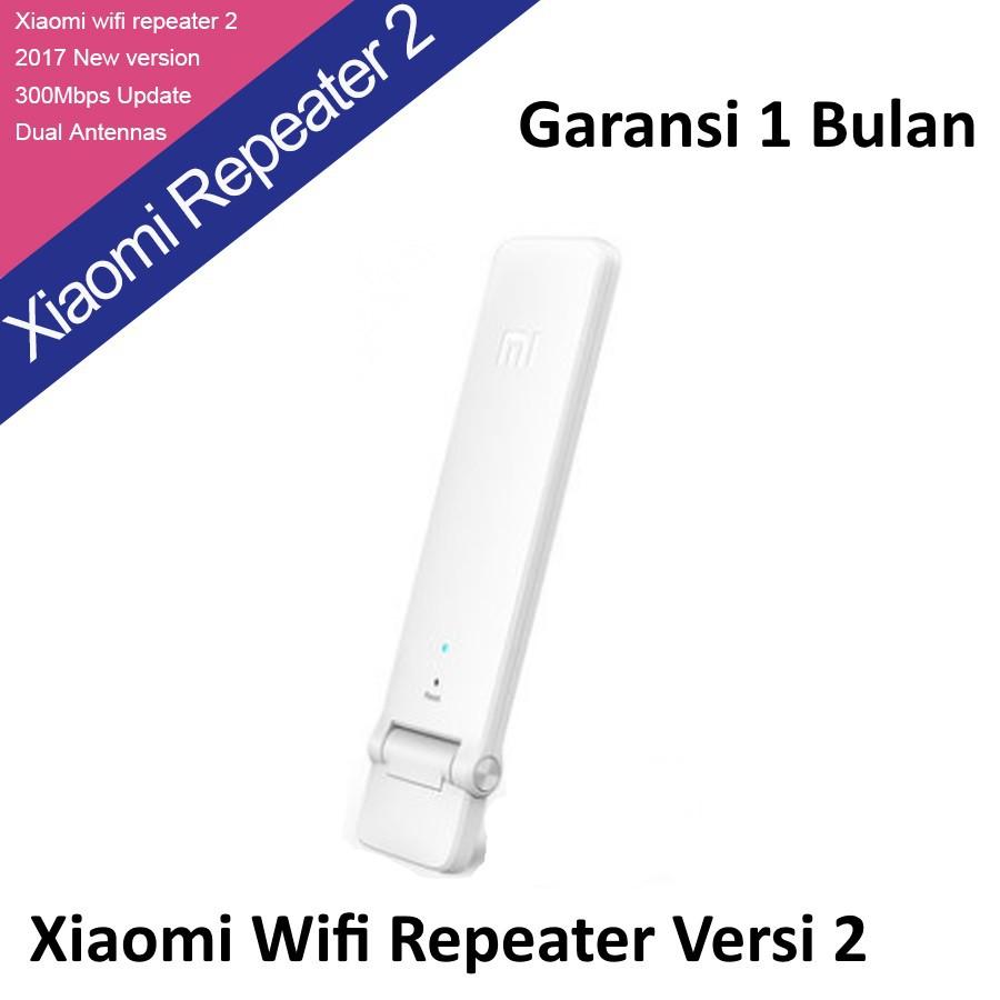 Xiaomi Wifi Amplify Extender 2 Penguat Sinyal Wifi Versi 2