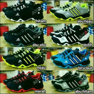 Sepatu Adidas Ax2 Hitam Hijau 2