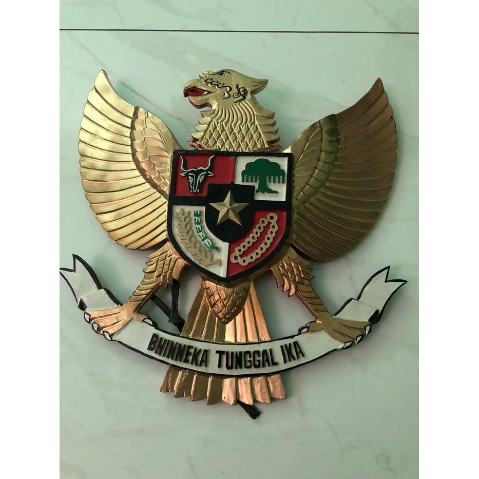Diskon Patung Pajangan Burung Garuda Kayu 40cm X 40cm Kwalitas